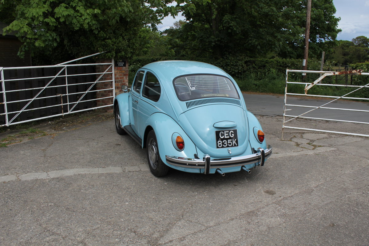 1971 VW Beetle 1200 - 55k Miles, very original For Sale (picture 4 of 17)