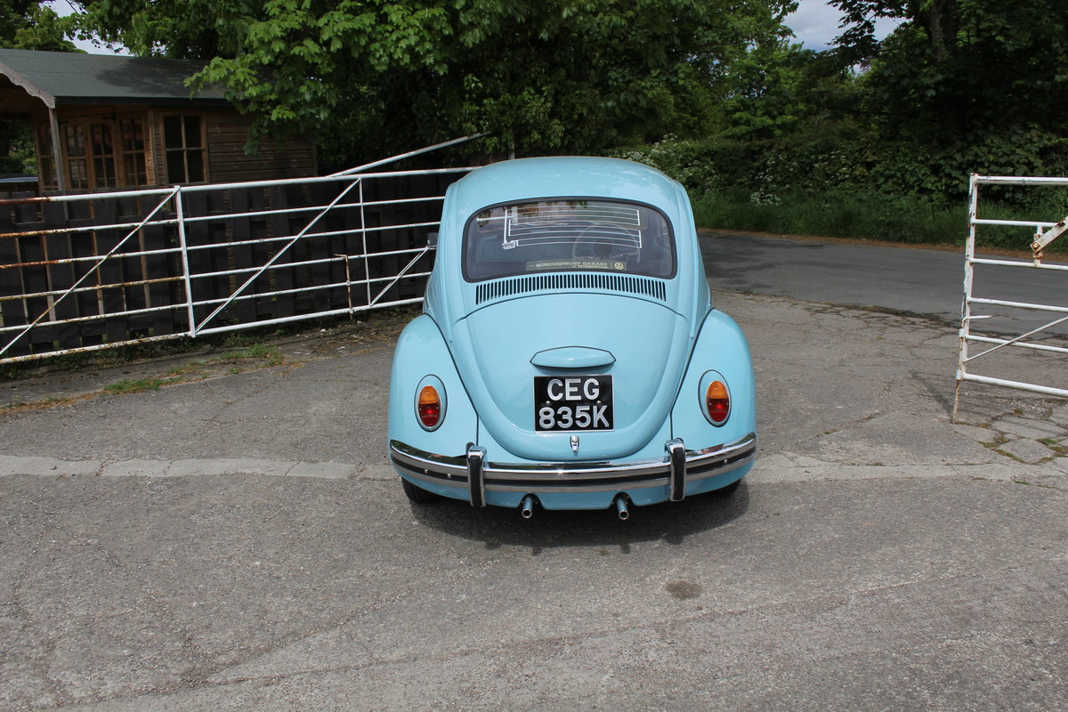 1971 VW Beetle 1200 - 55k Miles, very original For Sale (picture 5 of 17)