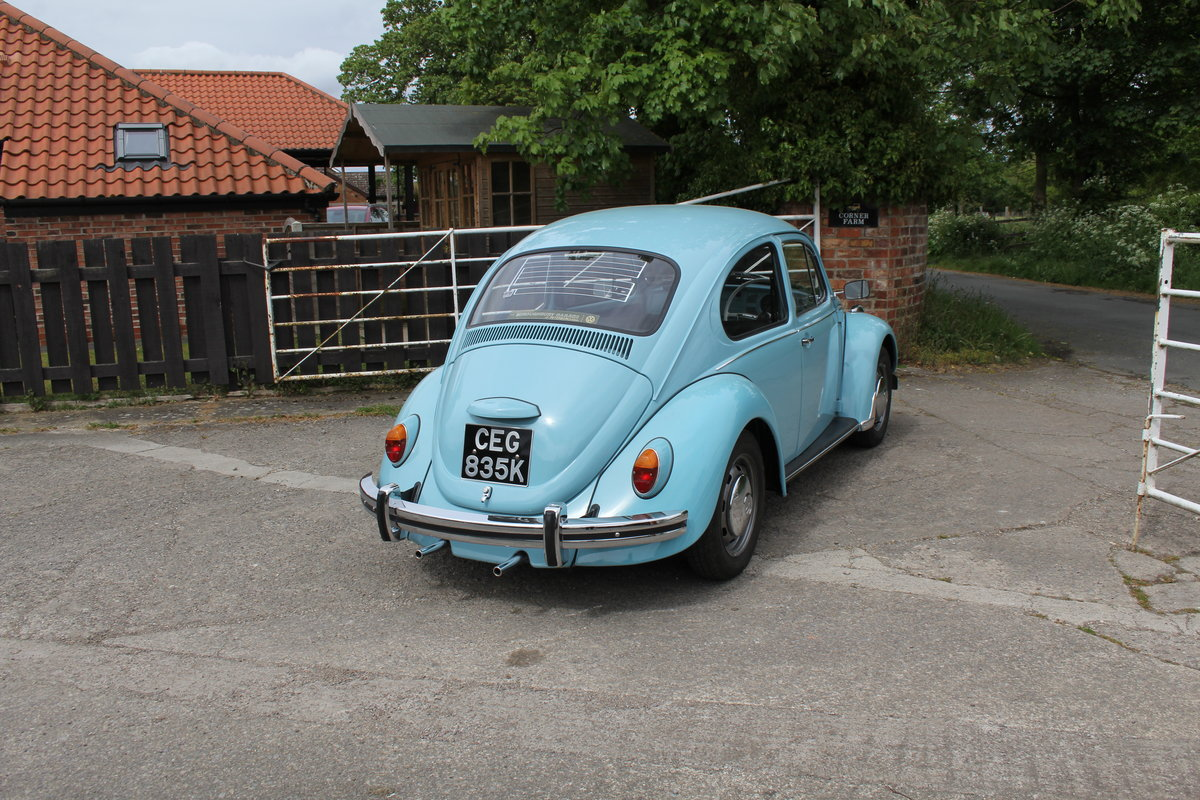 1971 VW Beetle 1200 - 55k Miles, very original For Sale (picture 6 of 17)