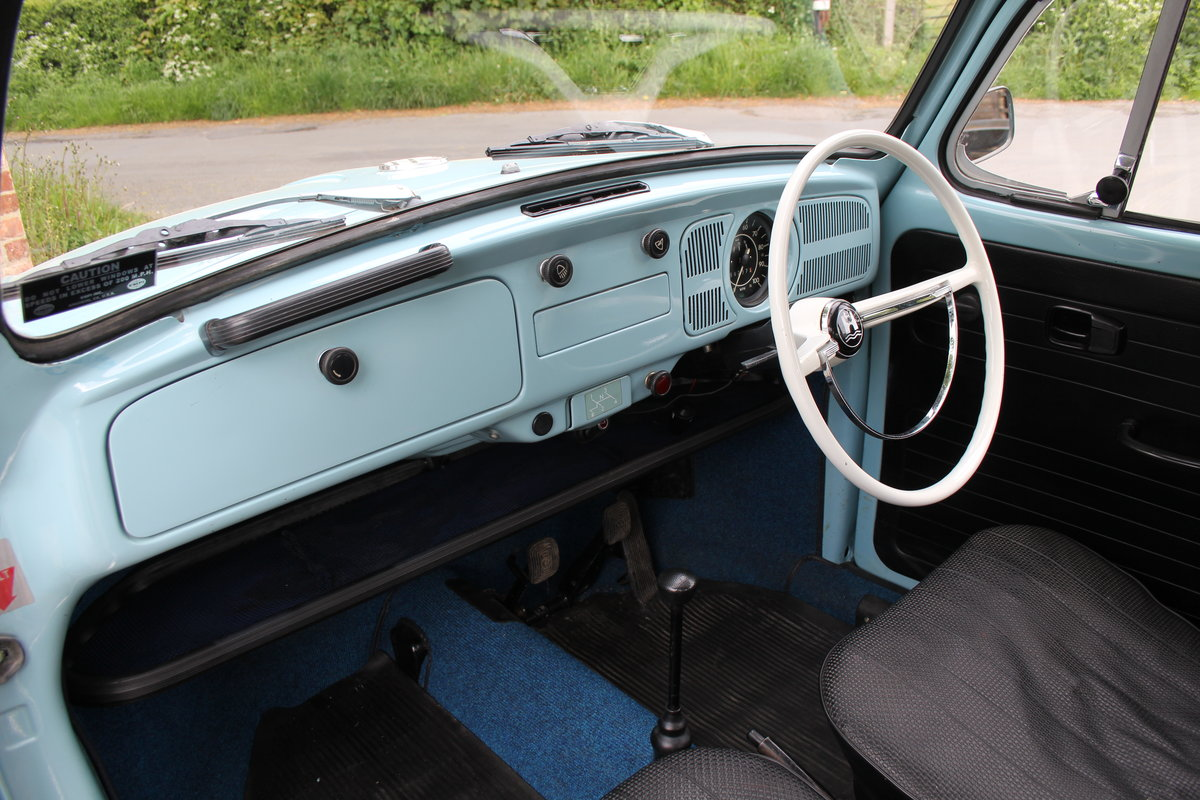 1971 VW Beetle 1200 - 55k Miles, very original For Sale (picture 10 of 17)