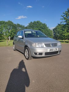 2001 VW POLO 1.4 16V SE Silver - ONLY 49474 MILES