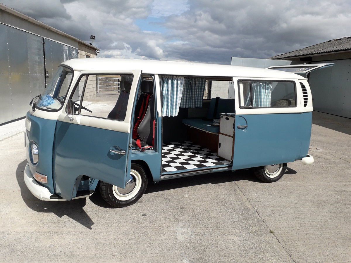 1969 VW T2 CAMPERVAN (EARLY BAY) For Sale (picture 1 of 6)