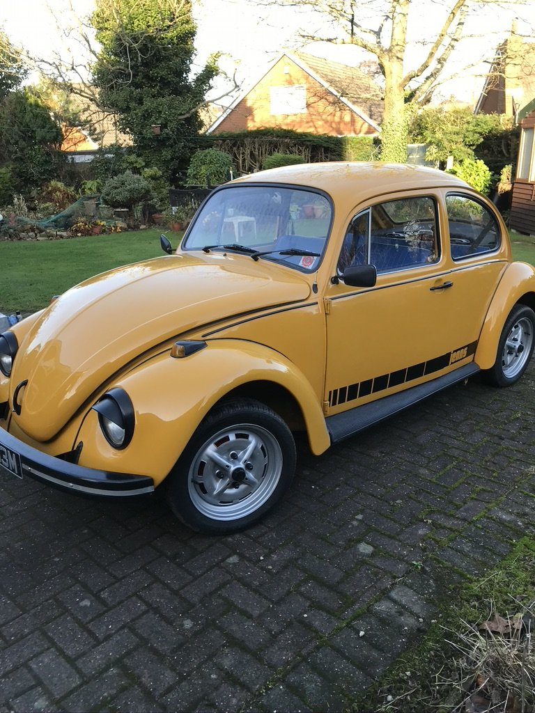 1973 Classic VW Jeans Beetle For Sale (picture 1 of 6)