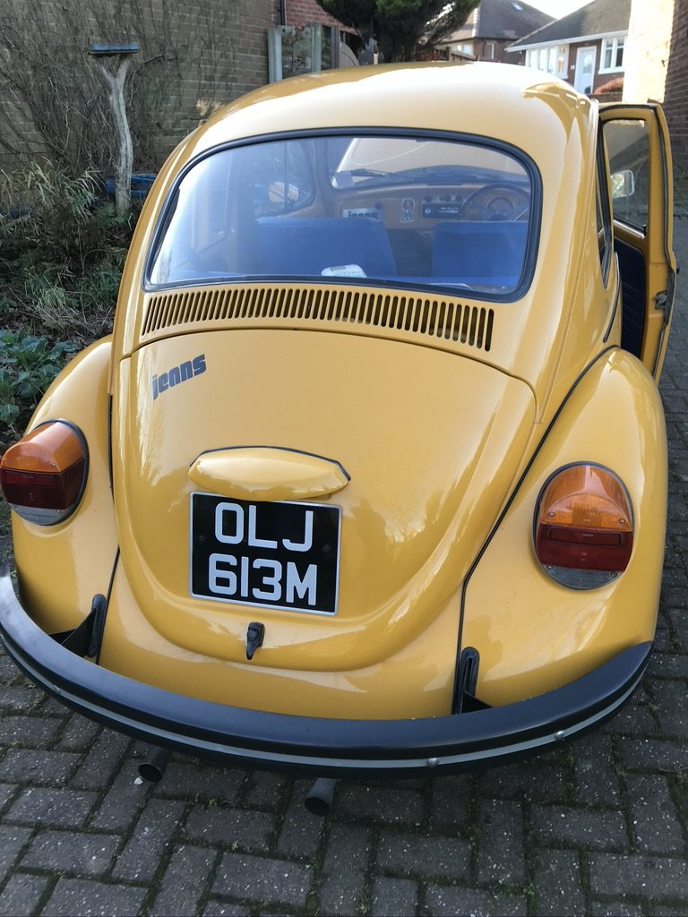 1973 Classic VW Jeans Beetle For Sale (picture 4 of 6)