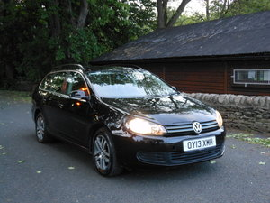 2013 VW GOLF 1.6 TDI SE ESTATE One Former + FSH +£30 TAX SOLD
