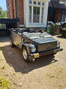 Ex military vw 181 Now Sold!