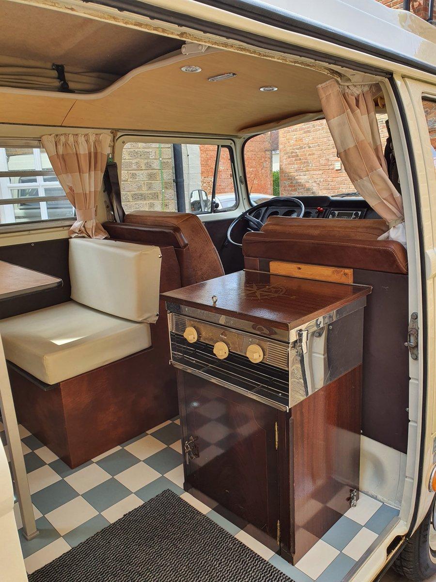 1969 VW Bay Window Camper, Early Bay, Westfalia  SOLD (picture 5 of 6)