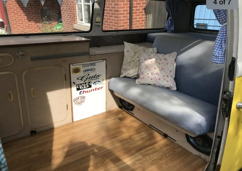 1972 Type 2 campervan For Sale (picture 4 of 6)
