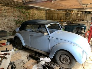 Karman Beetle Convertible Right Hand drive