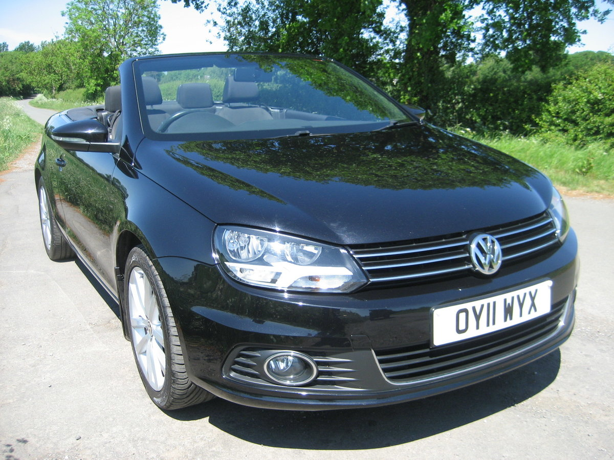 2011 Volkswagen Eos Convertible For Sale (picture 1 of 6)