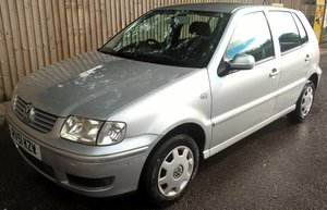 2001 VW Polo 1.4 Match only 25,100 miles