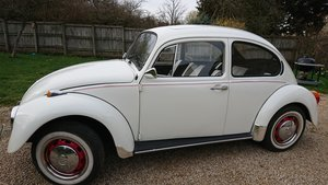 1974 VW Beetle 1300 in Beautiful white For Sale