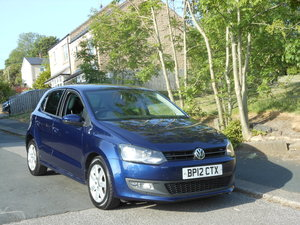 2012 VW Polo 1.4 Match 5DR 85BHP 1 Owner + S/H + 12 Month Mo SOLD