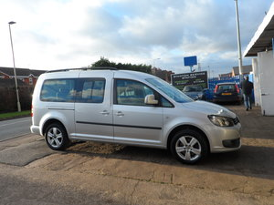2011 CADDY MAXI LIFE 7 SEAT 1600c DIESEL AUTOMATIC JUST £5,995