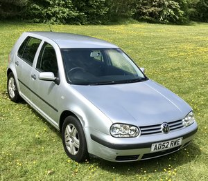 2003 VW Golf 1.6 Match Only 41,000 miles