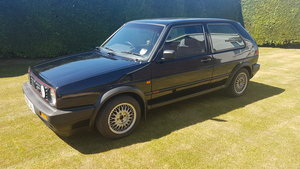 Black 3door Mk2 Golf GTI 8V  VW