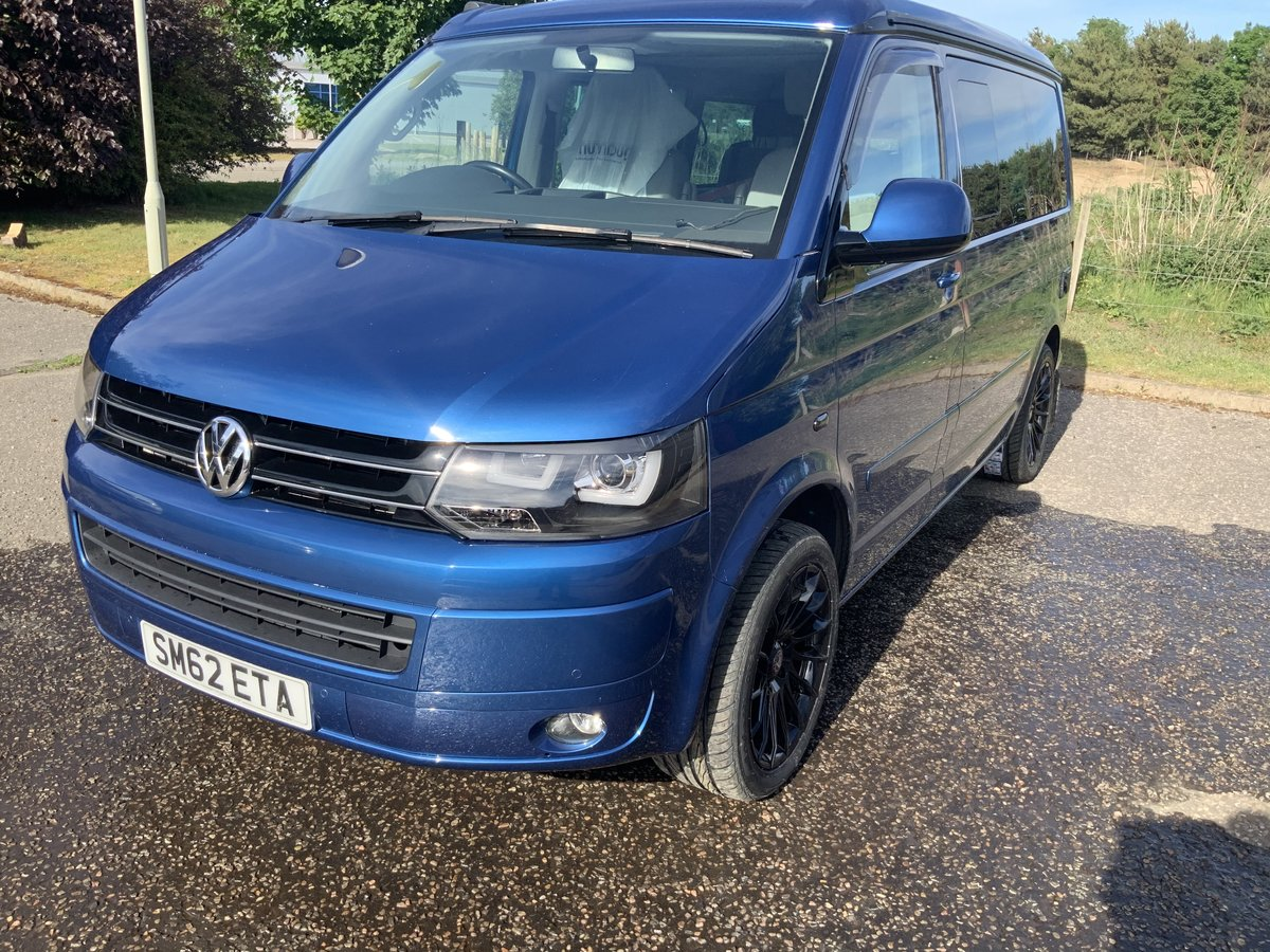2012 VW California SE 4 berth 2.0 TDI 140ps Olympian Bl For Sale (picture 1 of 4)
