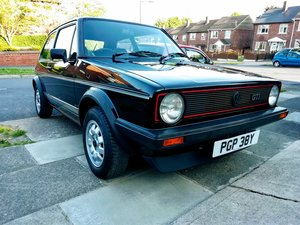 Volkswagen golf GTI MK1 FSH totally original
