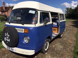 VW Type 2 Bay Window Camper Van