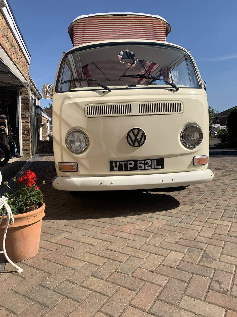 1972 VW Camper T2 Bay - rare crossover For Sale (picture 1 of 6)