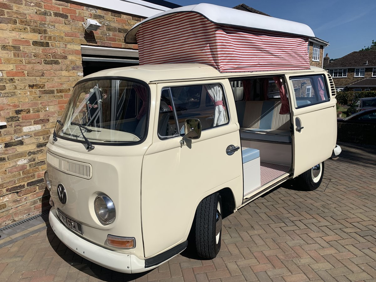 1972 VW Camper T2 Bay - rare crossover For Sale (picture 3 of 6)