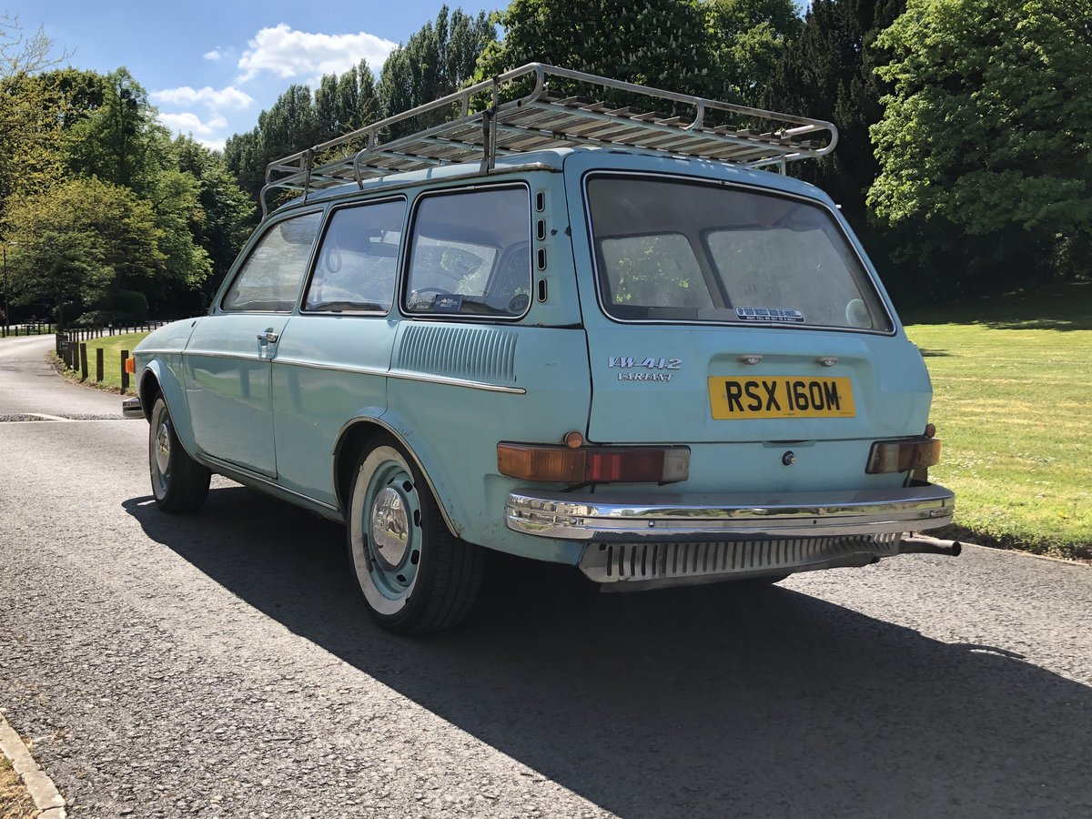 1974 VW 412LE  air cooled variant  For Sale (picture 4 of 6)