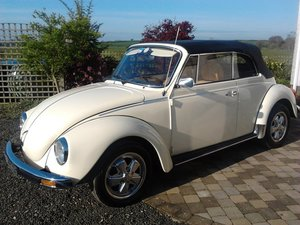 VW Beetle 1303s Karmann Convertible RHD