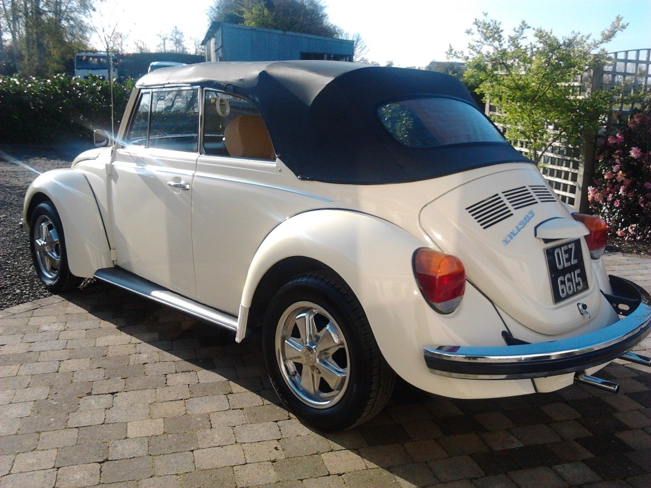 1978 VW Beetle 1303s Karmann Convertible RHD SOLD (picture 2 of 4)