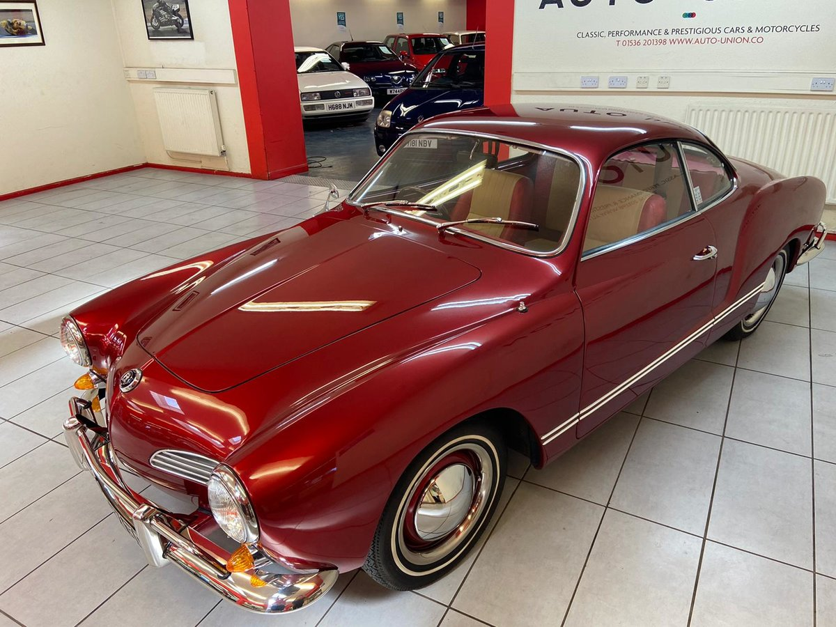 1965 1956 VOLKSWAGEN KARMANN GHIA For Sale (picture 2 of 6)