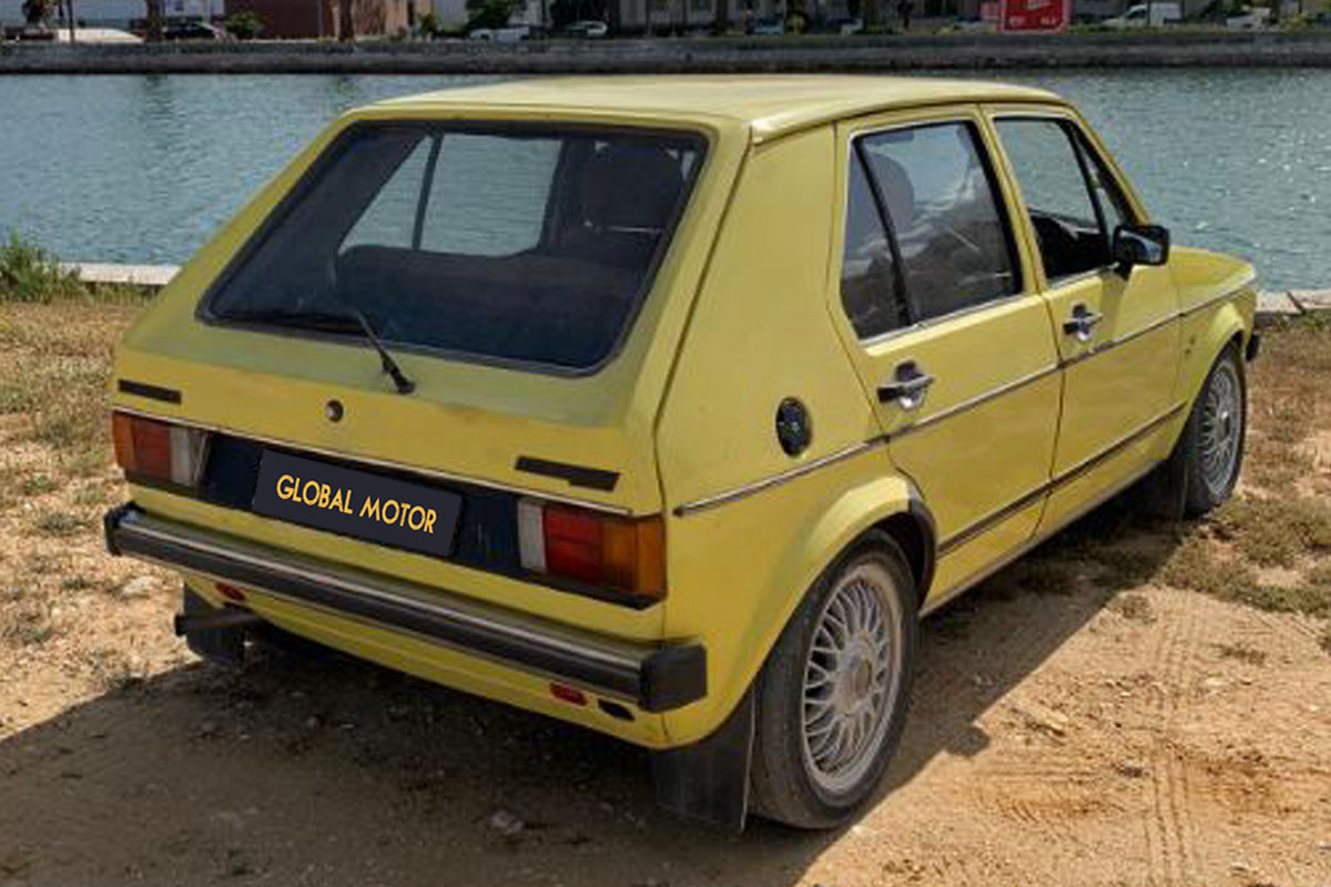 1980 Volkswagen Golf Mk1 1.5 GLS (RHD) For Sale (picture 1 of 6)