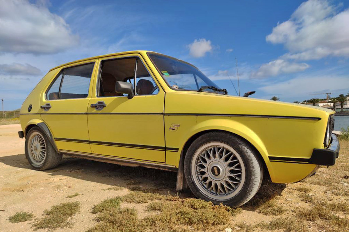 1980 Volkswagen Golf Mk1 1.5 GLS (RHD) For Sale (picture 2 of 6)
