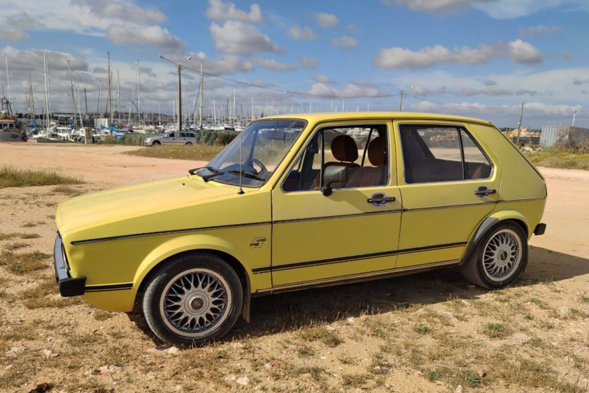 1980 Volkswagen Golf Mk1 1.5 GLS (RHD) For Sale (picture 4 of 6)