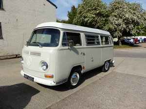 VW Type 2 Bay window camper van poptop