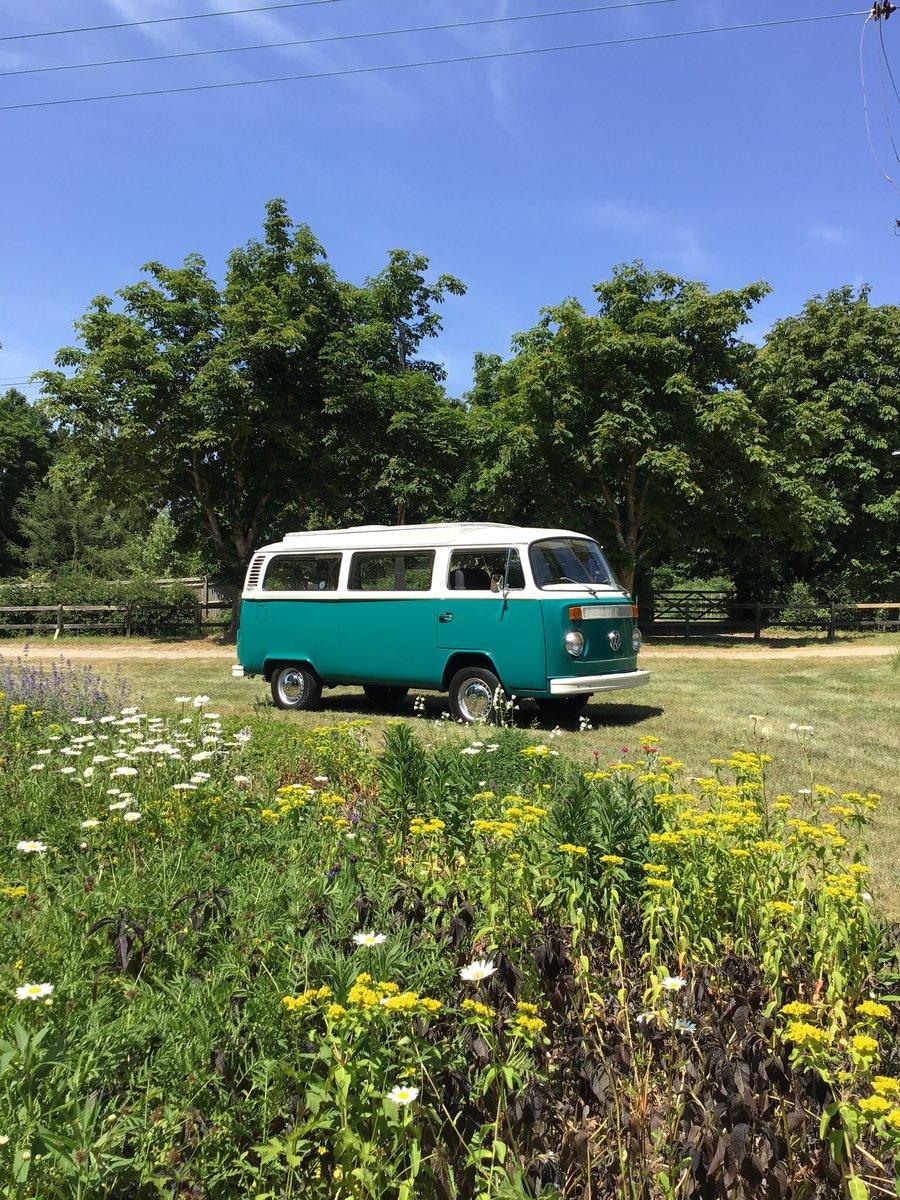 1972 Vw T2 Bay window camper van SOLD (picture 1 of 6)
