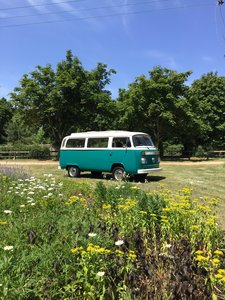 Vw T2 Bay window camper van