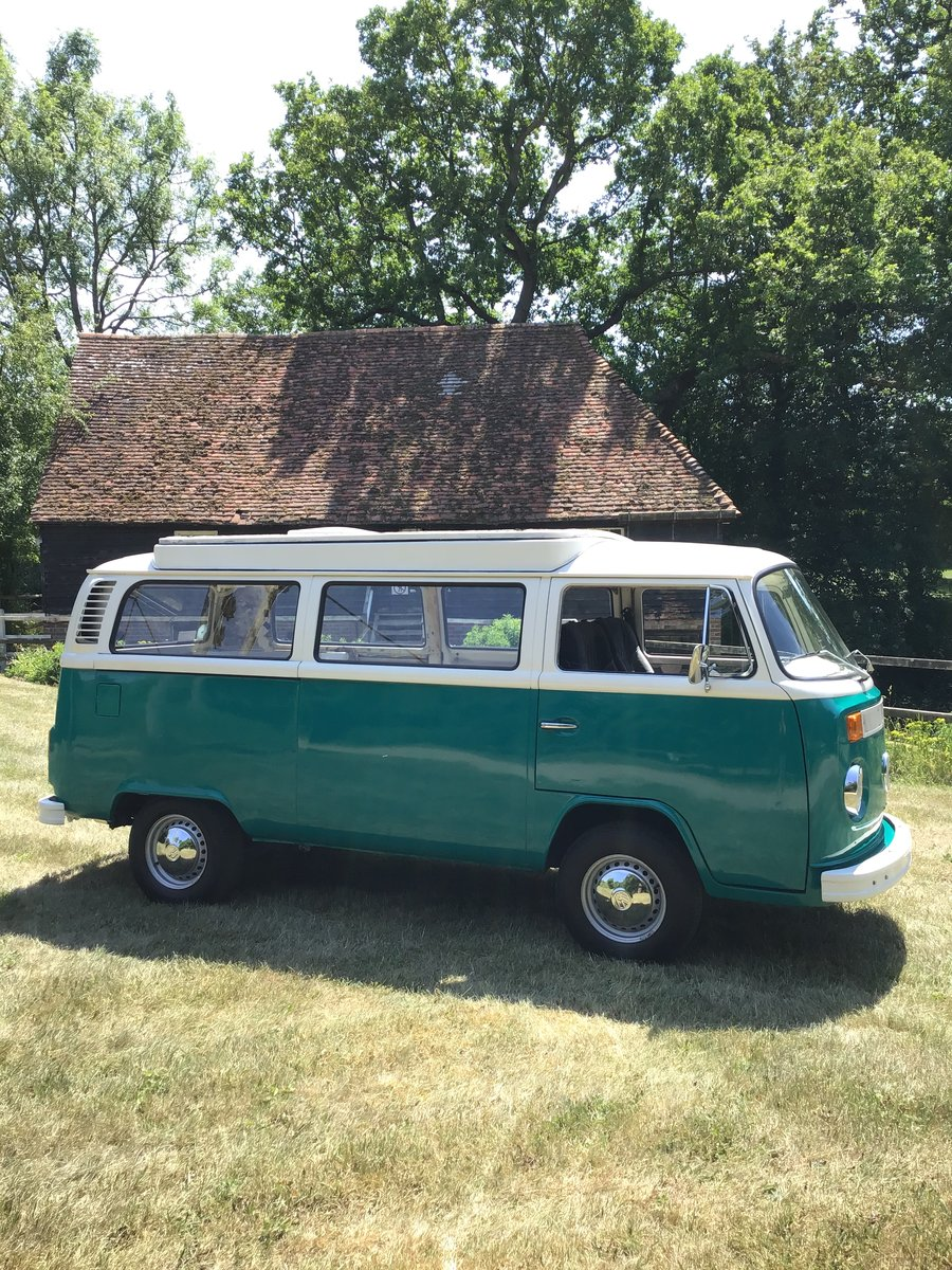 1972 Vw T2 Bay window camper van SOLD (picture 2 of 6)