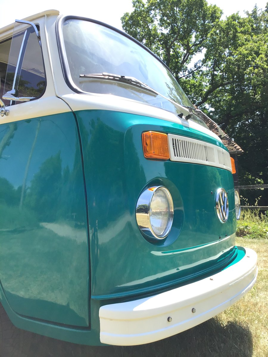 1972 Vw T2 Bay window camper van SOLD (picture 4 of 6)