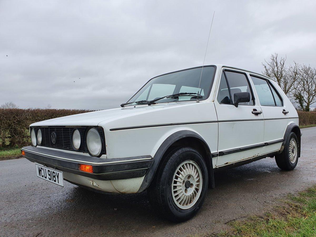 1983 Rhd mk 1 Volkswagen golf gti 1.8 5 door * rare * For Sale (picture 1 of 5)