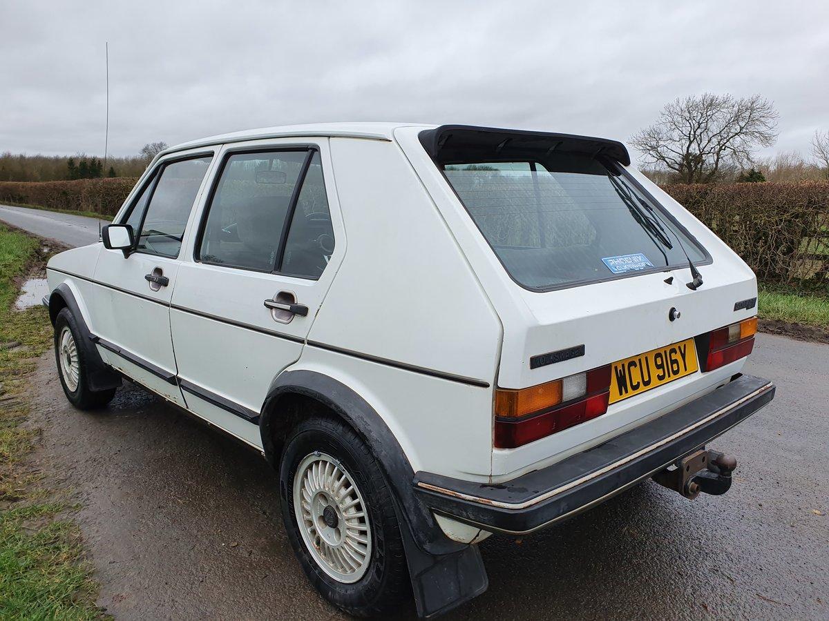 1983 Rhd mk 1 Volkswagen golf gti 1.8 5 door * rare * For Sale (picture 2 of 5)