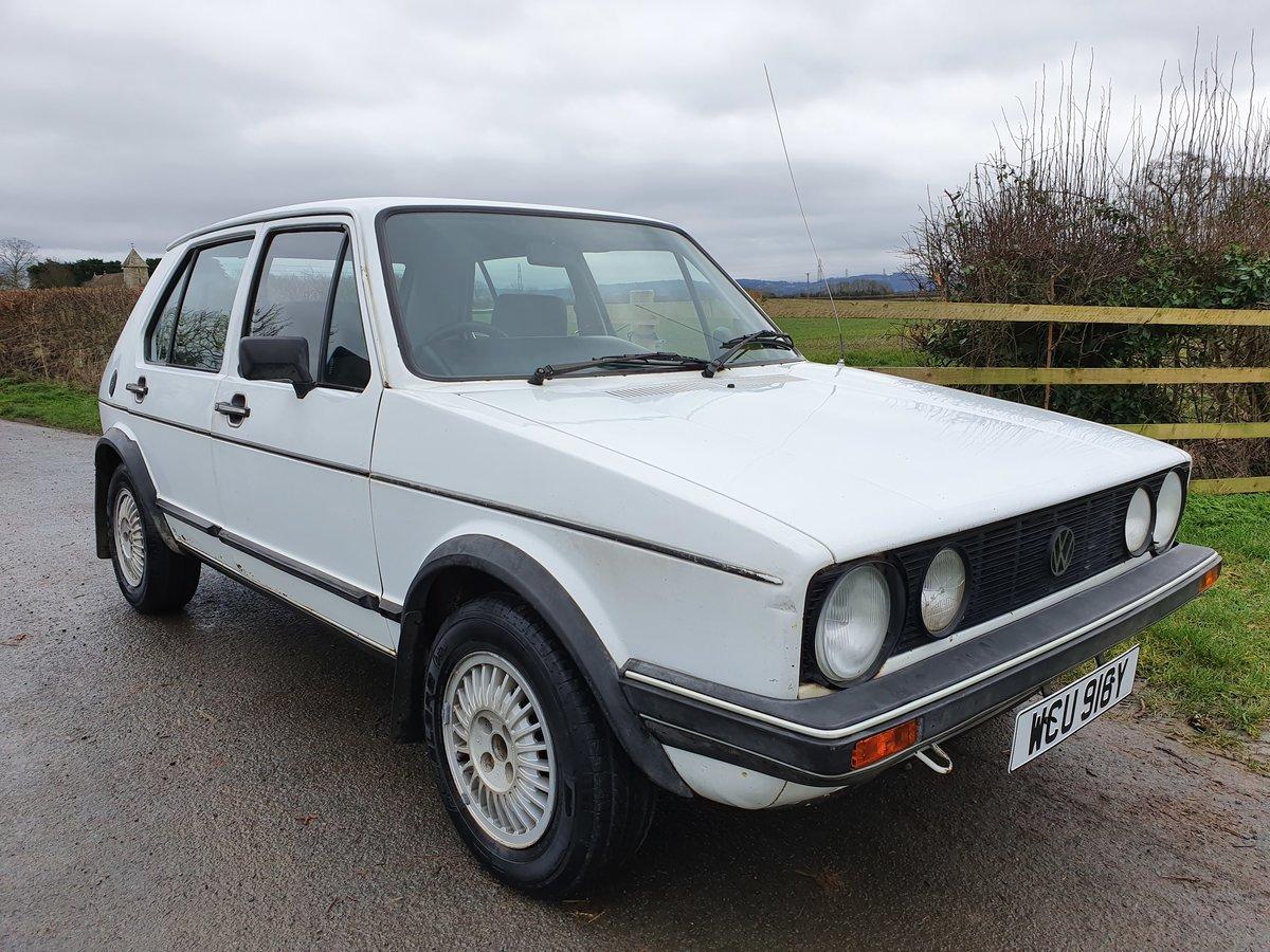 1983 Rhd mk 1 Volkswagen golf gti 1.8 5 door * rare * For Sale (picture 3 of 5)