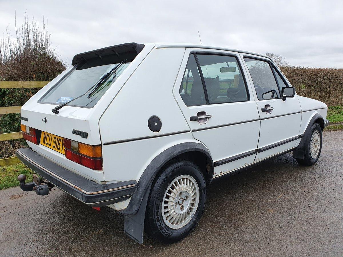 1983 Rhd mk 1 Volkswagen golf gti 1.8 5 door * rare * For Sale (picture 4 of 5)