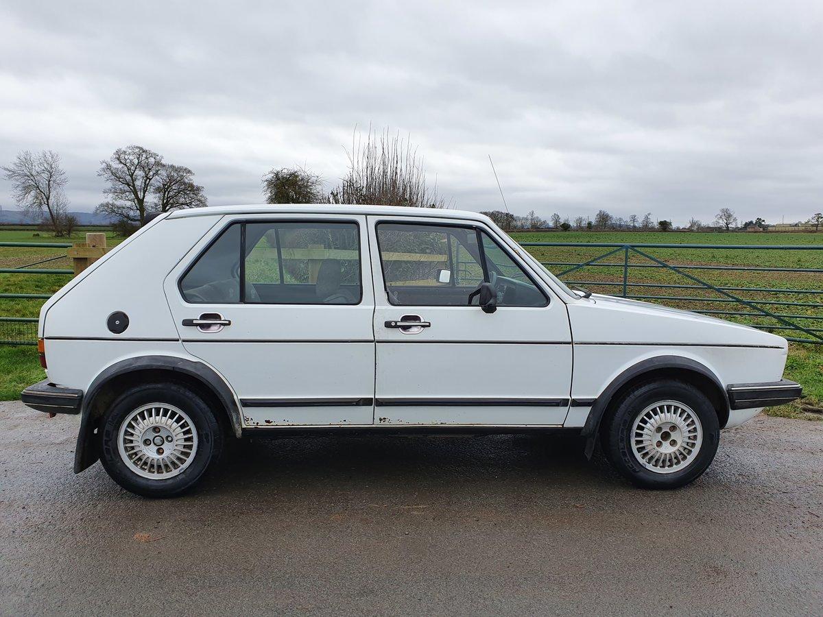 1983 Rhd mk 1 Volkswagen golf gti 1.8 5 door * rare * For Sale (picture 5 of 5)
