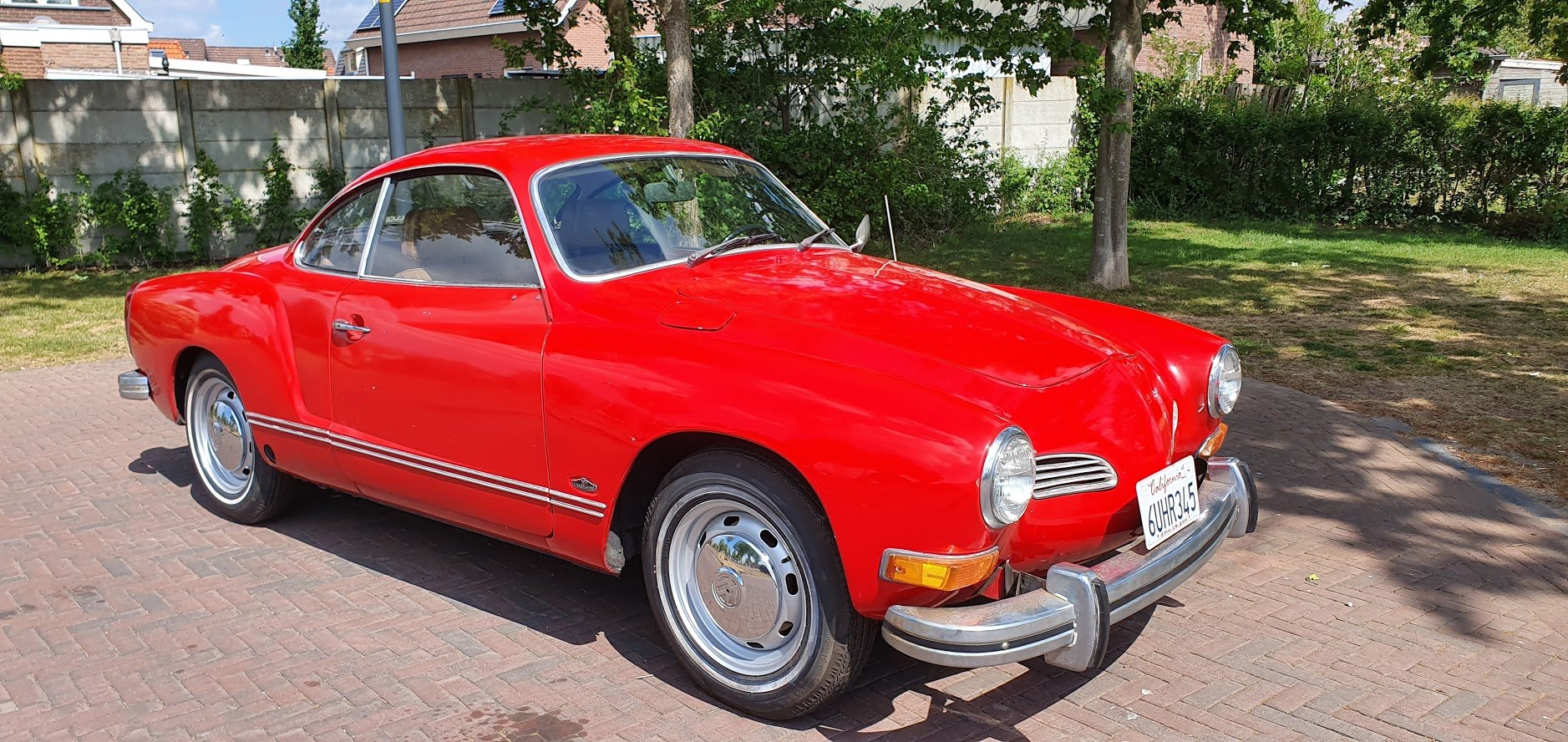 1972 Volkswagen Karmann Ghia Coupe,  SOLD (picture 1 of 6)