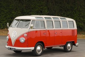 1965 VW Split Screen '21 Window Samba' Microbus Deluxe