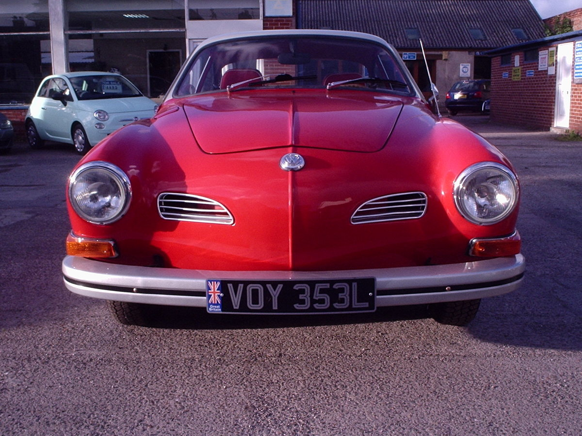 1973 KARMANN GHIA 1600 L.H.D For Sale (picture 2 of 6)