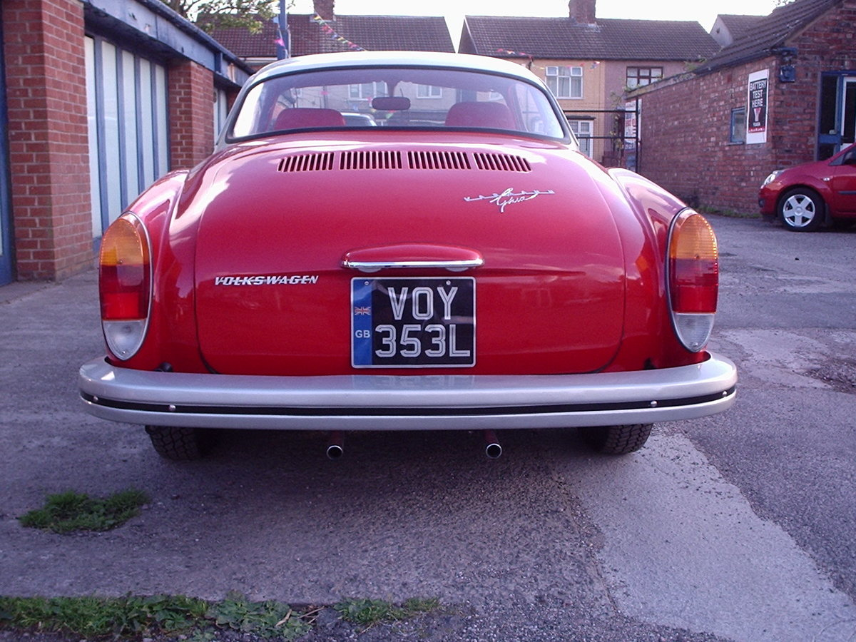 1973 KARMANN GHIA 1600 L.H.D For Sale (picture 6 of 6)