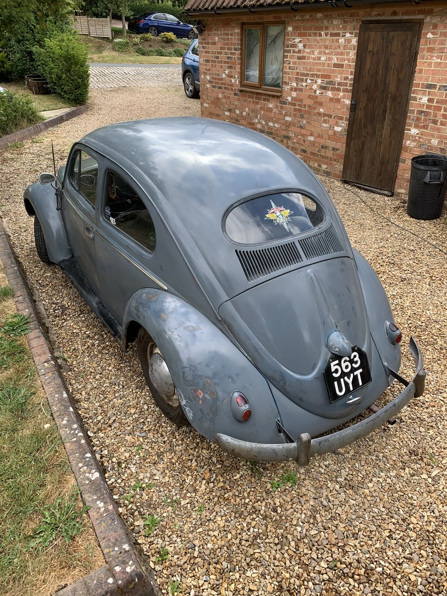 1955 Vw oval beetle standard  For Sale (picture 2 of 6)