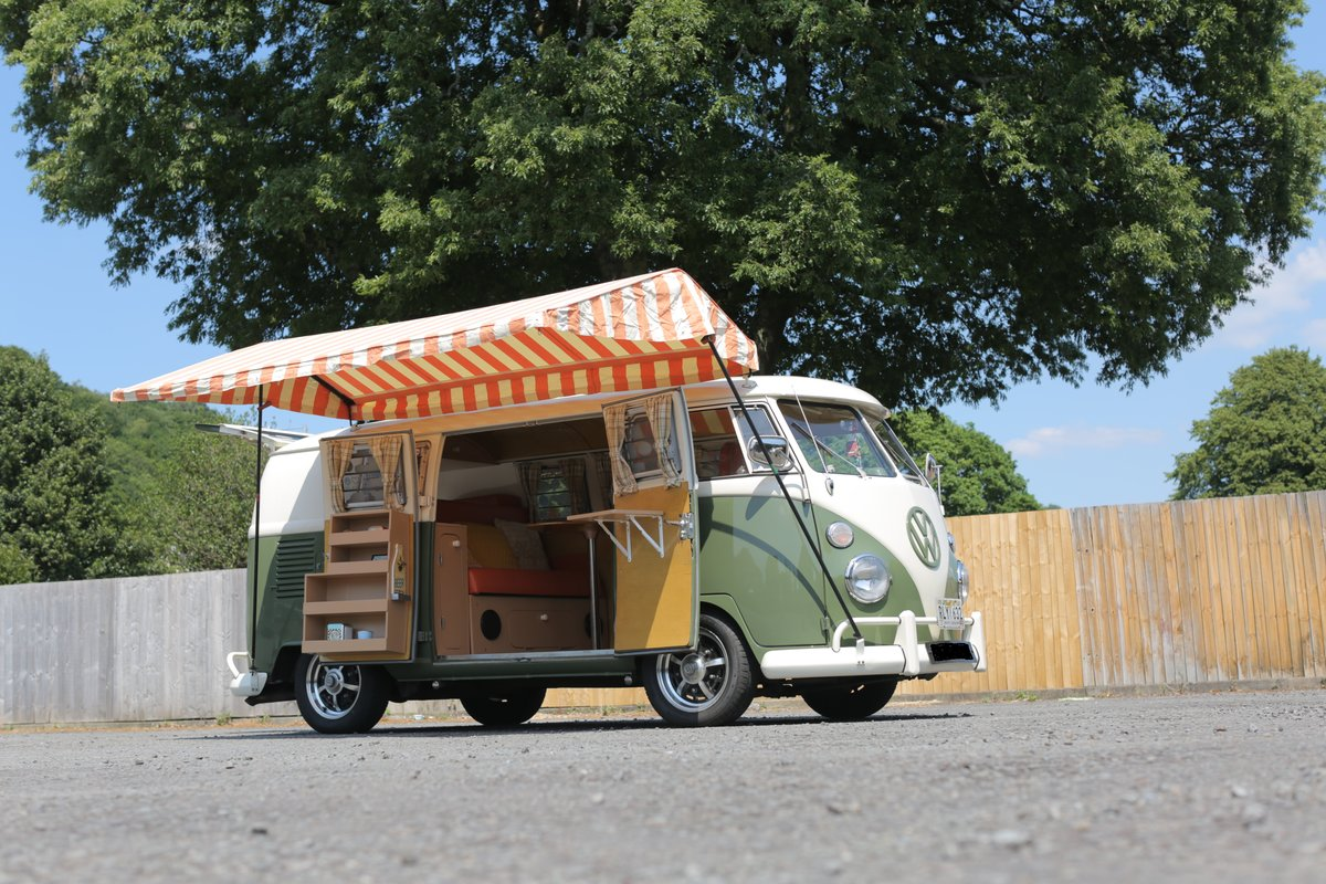 1966 VW Split Screen Campervan (German Built) For Sale (picture 1 of 6)