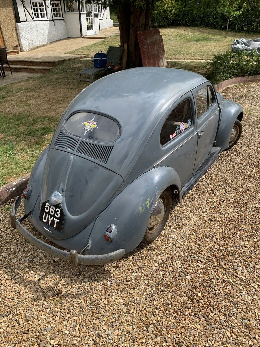 1955 Vw oval beetle standard  For Sale (picture 5 of 6)