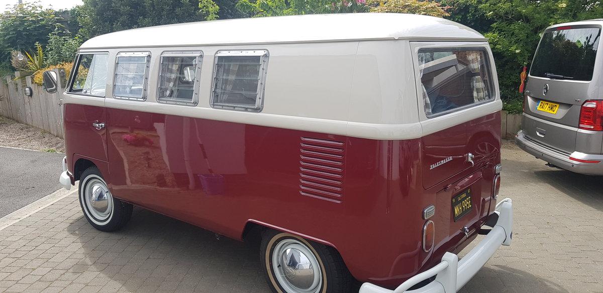 VW campervan 1967 original SO42. Sale agreed. SOLD (picture 2 of 6)